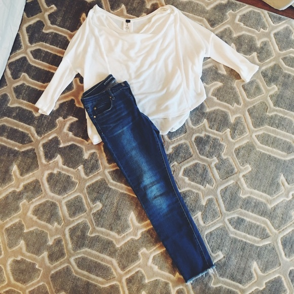 Tops - Free People Top & Articles of Society Jeans!